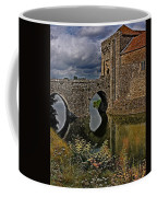 The Gatehouse And Moat At Leeds Castle Coffee Mug