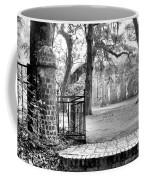 The Gates Of The Old Sheldon Church Coffee Mug