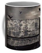 The Gathering - Vultures Above An Old Barn Coffee Mug
