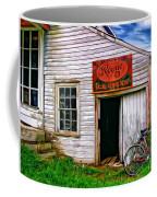 The General Store Painted Coffee Mug