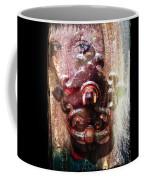 The Girl Behind The Door Haunting Coffee Mug