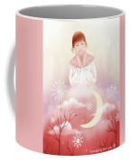 The Girl In Meditation Coffee Mug