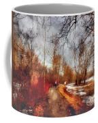 The Girl On The Path Coffee Mug