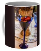 The Glass Of Strawberries Coffee Mug