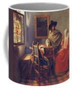 The Glass Of Wine Coffee Mug