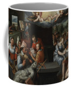 The Glorification Of Art And Diligence And The Punishment Of Gluttony And Earthly Pleasures Coffee Mug