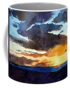 The Glory Of The Sunset Coffee Mug