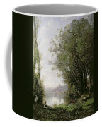 The Goatherd Beside The Water  Coffee Mug