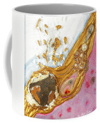 The Golden Flow Of Love And Determination Coffee Mug
