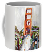 The Golden Gate Bridge San Francisco Coffee Mug