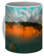 The Golden Hour Illuminating The Dunes Coffee Mug