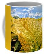 The Golden Leaf Coffee Mug