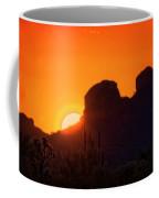 The Golden Light Of The Sonoran Desert  Coffee Mug