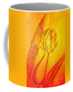 The Golden Tulip Coffee Mug