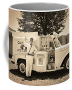 The Good Humor Man In Sepia Coffee Mug