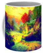 The Good Shepherd Painting In Hotty Totty  Coffee Mug