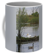 The Goose And The Pelican Coffee Mug