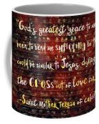 The Grace Of Suffering Coffee Mug