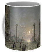 The Grand Canal From Piazza San Marco Coffee Mug