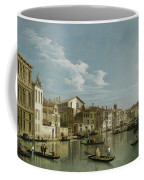 The Grand Canal In Venice From Palazzo Flangini To Campo San Marcuola Coffee Mug