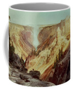 The Grand Canyon Of The Yellowstone Coffee Mug by Thomas Moran