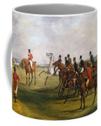 The Grand Leicestershire Steeplechase, March 12, 1829  The Start Coffee Mug