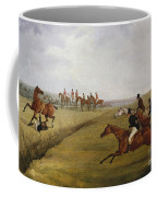 The Grand Leicestershire Steeplechase, March 12th, 1829 Coffee Mug