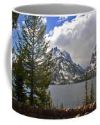 The Grand Tetons And The Lake Coffee Mug