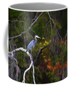 The Great Blue Heron Coffee Mug