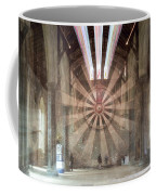 The Great Hall, Winchester Castle, Hampshire Zoom Burst Coffee Mug