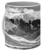The Great Sand Dune Valley Bw Coffee Mug