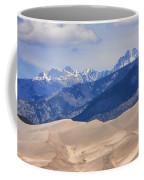 The Great Sand Dunes Color Print 45 Coffee Mug