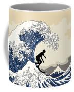 The Great Surfer Off Kanagawa Coffee Mug