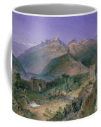 The Great Wall Of China Coffee Mug by William Simpson