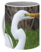 The Great White Egret Coffee Mug