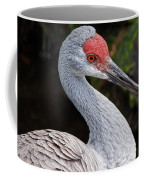 The Greater Sandhill Crane Coffee Mug