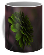 The Green Flower Coffee Mug