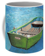 The Green Rowboat Coffee Mug