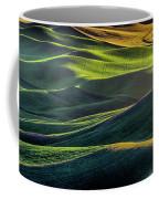 The Green Waves Of Palouse Wa Dsc05032  Coffee Mug