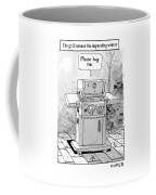 The Grill Senses The Impending Winter Coffee Mug