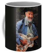 The Guitar Player Coffee Mug