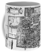 The Hague: Map, C1650 Coffee Mug