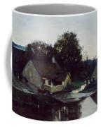 The Hamlet Of Optevoz Coffee Mug