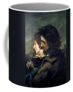 The Happy Lovers Coffee Mug by Gustave Courbet