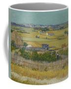 The Harvest Arles  June 1888 Vincent Van Gogh 1853  1890 Coffee Mug