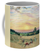 The Harvest Coffee Mug by Boris Mikhailovich Kustodiev