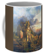 The Haunted House Coffee Mug by Thomas Moran
