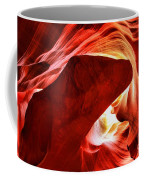 The Heart And The Dog Coffee Mug