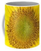 The Heart Of The Sunflower Coffee Mug