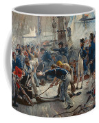 The Hero Of Trafalgar Coffee Mug by William Heysham Overend
